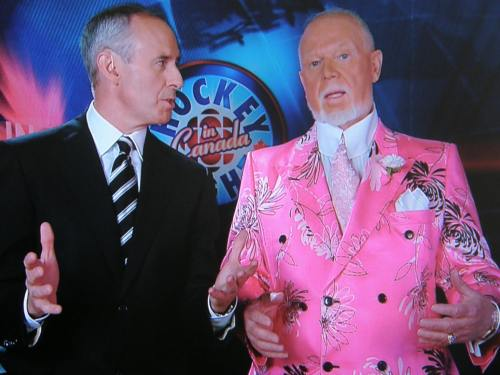 Don Cherry on Coach's Corner, 9 May 2008