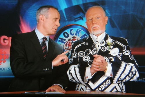Don Cherry on Coach's Corner, 18 May 2008