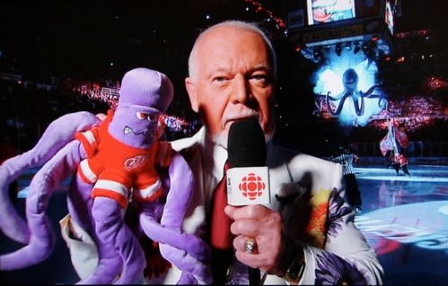 Don Cherry with the plush octopus, 24 May 2008