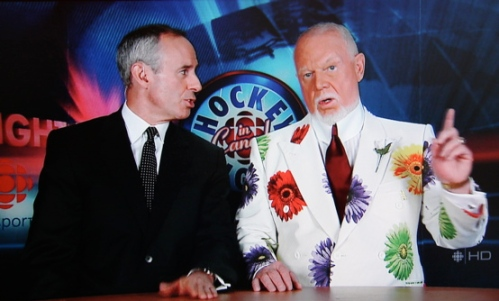 Don Cherry on Coach's Corner, 24 May 2008