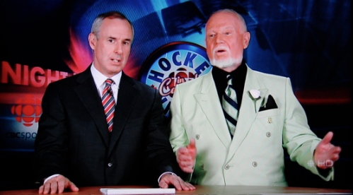 Don Cherry on Coach's Corner, 26 May 2008