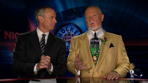 Don Cherry on Coach's Corner, 22 Nov 2008