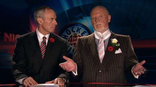 Don Cherry on Coach's Corner, 31 Oct 2009